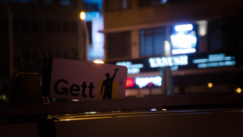 Gett Yango Ride Hailing Services In Tel Aviv